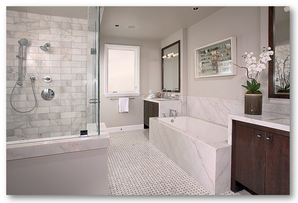 Bathroom Flooring And Remodeling Services In Va Md And D