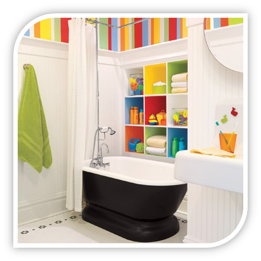 Bathroom design remodeling contractor in ashburn northern for Kid friendly bathroom ideas